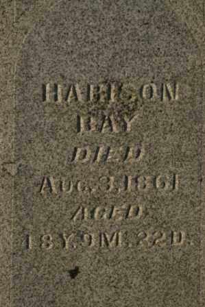 BAY, HARISON - Morrow County, Ohio   HARISON BAY - Ohio Gravestone Photos