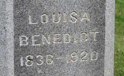 BENEDICT, LOUISA - Morrow County, Ohio | LOUISA BENEDICT - Ohio Gravestone Photos