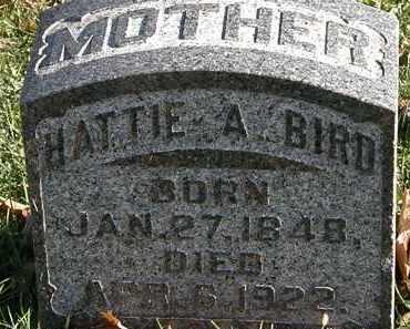BIRD, HATTIE A. - Morrow County, Ohio | HATTIE A. BIRD - Ohio Gravestone Photos