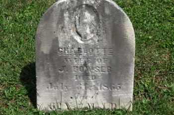BOWSER, CHARLOTTE - Morrow County, Ohio   CHARLOTTE BOWSER - Ohio Gravestone Photos