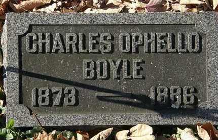 BOYLE, CHARLES OPHELLO - Morrow County, Ohio   CHARLES OPHELLO BOYLE - Ohio Gravestone Photos