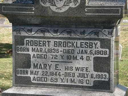 BROCKLESBY, ROBERT - Morrow County, Ohio | ROBERT BROCKLESBY - Ohio Gravestone Photos