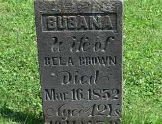 BROWN, BELA - Morrow County, Ohio | BELA BROWN - Ohio Gravestone Photos