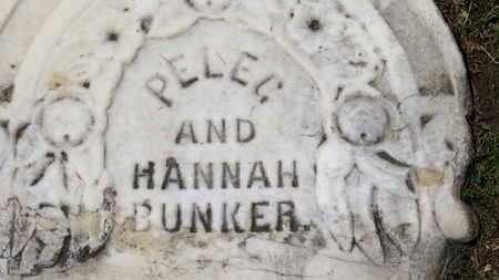 BUNKER, PELEG - Morrow County, Ohio | PELEG BUNKER - Ohio Gravestone Photos