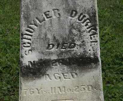 BURKEE, SCHUYLER - Morrow County, Ohio | SCHUYLER BURKEE - Ohio Gravestone Photos