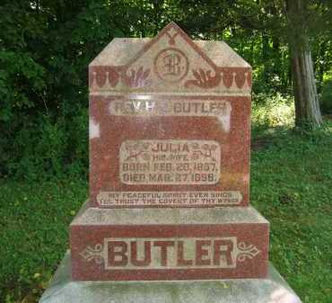 BUTLER, H. E. - Morrow County, Ohio | H. E. BUTLER - Ohio Gravestone Photos