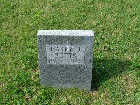 BUTTS, HARRY J. - Morrow County, Ohio | HARRY J. BUTTS - Ohio Gravestone Photos