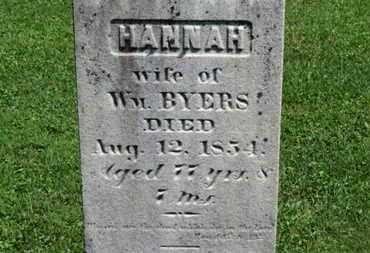 BYERS, WM. - Morrow County, Ohio | WM. BYERS - Ohio Gravestone Photos