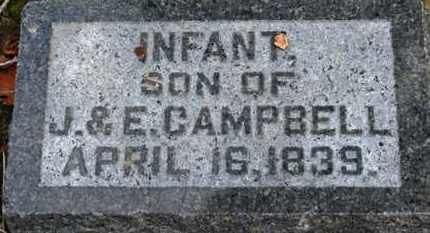 CAMPBELL, INFANT SON - Morrow County, Ohio   INFANT SON CAMPBELL - Ohio Gravestone Photos