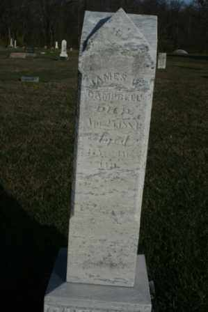 CAMPBELL, JAMES W - Morrow County, Ohio | JAMES W CAMPBELL - Ohio Gravestone Photos