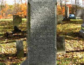 CAMPBELL, JESSE - Morrow County, Ohio | JESSE CAMPBELL - Ohio Gravestone Photos