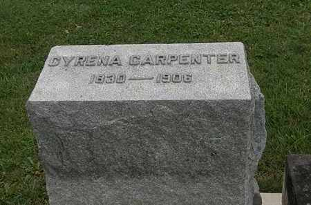 CARPENTER, CYRENA - Morrow County, Ohio | CYRENA CARPENTER - Ohio Gravestone Photos