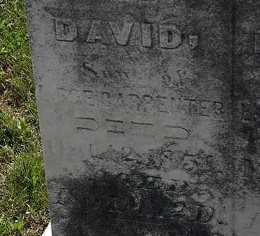 CARPENTER, DAVID - Morrow County, Ohio   DAVID CARPENTER - Ohio Gravestone Photos