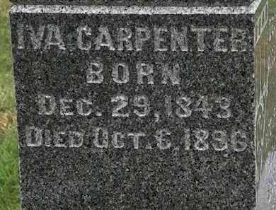 CARPENTER, IVA - Morrow County, Ohio | IVA CARPENTER - Ohio Gravestone Photos