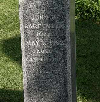 CARPENTER, JOHN H. - Morrow County, Ohio | JOHN H. CARPENTER - Ohio Gravestone Photos