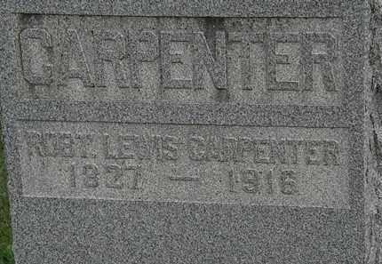 CARPENTER, ROBT. LEWIS - Morrow County, Ohio | ROBT. LEWIS CARPENTER - Ohio Gravestone Photos