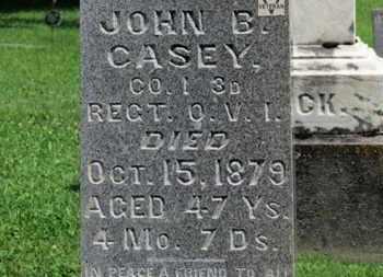 CASEY, JOHN B. - Morrow County, Ohio | JOHN B. CASEY - Ohio Gravestone Photos