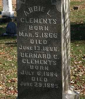 CLEMENTS, BERNARD C. - Morrow County, Ohio | BERNARD C. CLEMENTS - Ohio Gravestone Photos