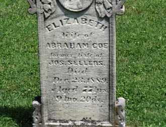 COE, ABRAHAM - Morrow County, Ohio | ABRAHAM COE - Ohio Gravestone Photos