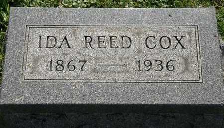 COX, IDA REED - Morrow County, Ohio | IDA REED COX - Ohio Gravestone Photos