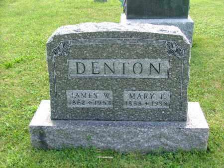 FARRINGTON DENTON, MARY FRANCES (MAEVE) - Morrow County, Ohio | MARY FRANCES (MAEVE) FARRINGTON DENTON - Ohio Gravestone Photos