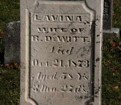 DEWITT, LAVINA - Morrow County, Ohio   LAVINA DEWITT - Ohio Gravestone Photos