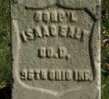 EALY, ISAAC - Morrow County, Ohio | ISAAC EALY - Ohio Gravestone Photos