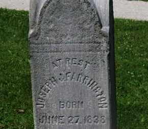 FARRINGTON, JOSEPH - Morrow County, Ohio | JOSEPH FARRINGTON - Ohio Gravestone Photos