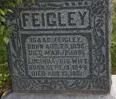 FEIGHLEY, ISAAC - Morrow County, Ohio | ISAAC FEIGHLEY - Ohio Gravestone Photos