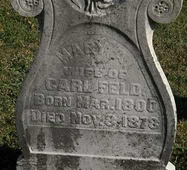 FELD, CARL - Morrow County, Ohio   CARL FELD - Ohio Gravestone Photos
