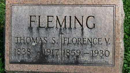 FLEMING, THOMAS S. - Morrow County, Ohio | THOMAS S. FLEMING - Ohio Gravestone Photos