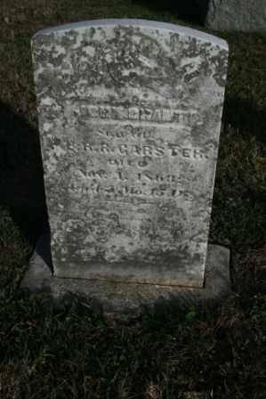 GARSTER, JOHN GRANT - Morrow County, Ohio | JOHN GRANT GARSTER - Ohio Gravestone Photos