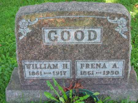 GOOD, FRENA A. - Morrow County, Ohio | FRENA A. GOOD - Ohio Gravestone Photos
