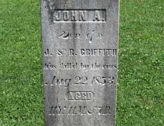 GRIFFITH, JOHN A. - Morrow County, Ohio   JOHN A. GRIFFITH - Ohio Gravestone Photos