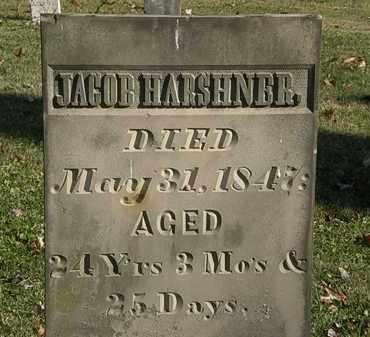 HARSHNER, JACOB - Morrow County, Ohio   JACOB HARSHNER - Ohio Gravestone Photos