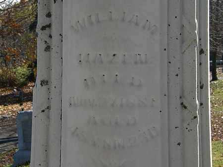 HAZEN, WILLIAM - Morrow County, Ohio | WILLIAM HAZEN - Ohio Gravestone Photos