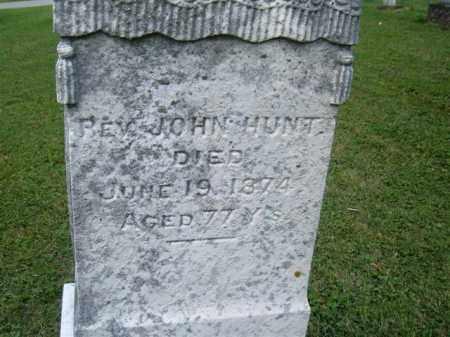 HUNT, JOHN - Morrow County, Ohio | JOHN HUNT - Ohio Gravestone Photos