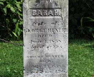 HUNTER, SARA R. - Morrow County, Ohio | SARA R. HUNTER - Ohio Gravestone Photos