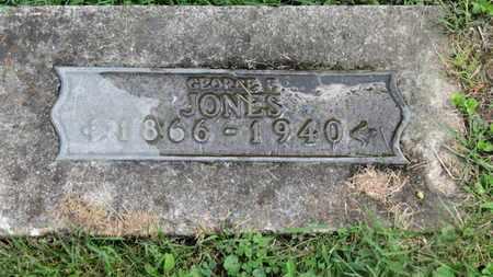 JONES, GEORGE F. - Morrow County, Ohio | GEORGE F. JONES - Ohio Gravestone Photos