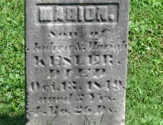 KESLER, MARION - Morrow County, Ohio | MARION KESLER - Ohio Gravestone Photos