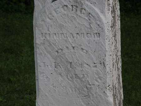KINNAMON, GEORGE - Morrow County, Ohio   GEORGE KINNAMON - Ohio Gravestone Photos