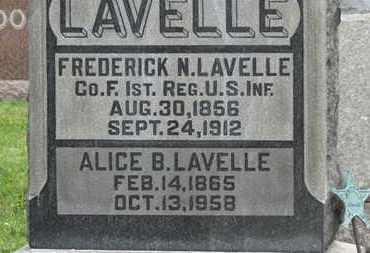 LAVELL, ALICE B. - Morrow County, Ohio   ALICE B. LAVELL - Ohio Gravestone Photos