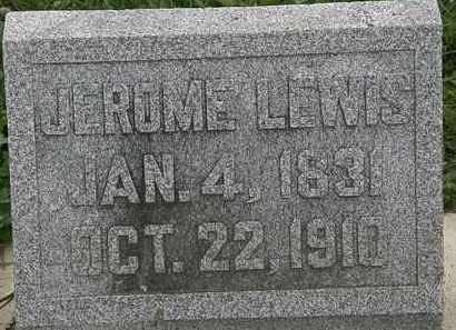 LEWIS, JEROME - Morrow County, Ohio | JEROME LEWIS - Ohio Gravestone Photos