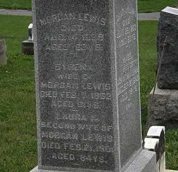 LEWIS, MORGAN - Morrow County, Ohio | MORGAN LEWIS - Ohio Gravestone Photos