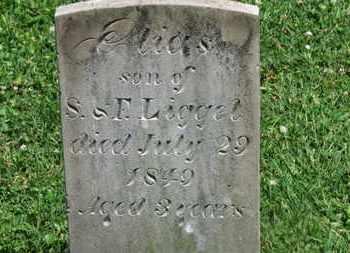 LIGGET, ELIAS - Morrow County, Ohio | ELIAS LIGGET - Ohio Gravestone Photos