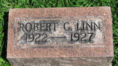 LINN, ROBERT G. - Morrow County, Ohio | ROBERT G. LINN - Ohio Gravestone Photos