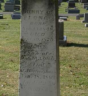 LONG, M. - Morrow County, Ohio | M. LONG - Ohio Gravestone Photos