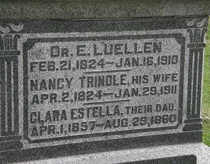 TRINDLE LUELLEN, NANCY - Morrow County, Ohio | NANCY TRINDLE LUELLEN - Ohio Gravestone Photos