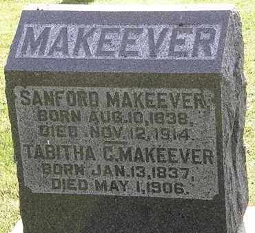 MAKEEVER, TABITHA - Morrow County, Ohio | TABITHA MAKEEVER - Ohio Gravestone Photos