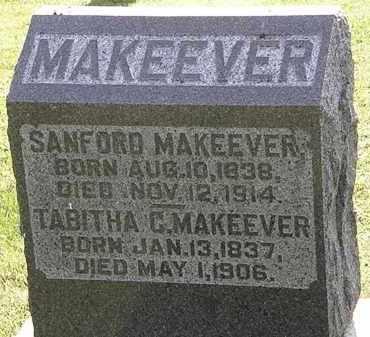 MAKEEVER, SANFORD - Morrow County, Ohio | SANFORD MAKEEVER - Ohio Gravestone Photos